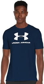 Under Armour Sportstyle Logo Shirt kurzarm navy (Herren) (1329590-408)