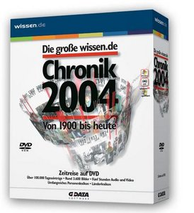 GData Software: Die big wissen.de Chronik 2004 (PC)