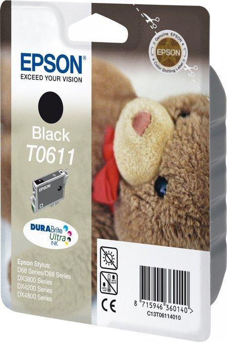 Epson T0611 Tinte schwarz (C13T061140)