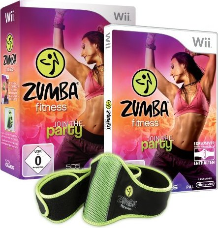 Zumba Fitness (deutsch) (Wii) -- via Amazon Partnerprogramm