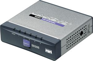 Linksys SD205, 5-Port