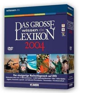 GData Software Das große wissen.de Lexikon 2004 (PC)