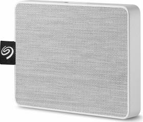 Seagate One Touch SSD weiß 500GB, USB 3.0 Micro-B (STJE500402)