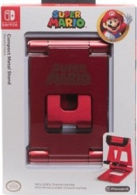 PowerA Compact Metal Stand Super Mario rot (Switch)