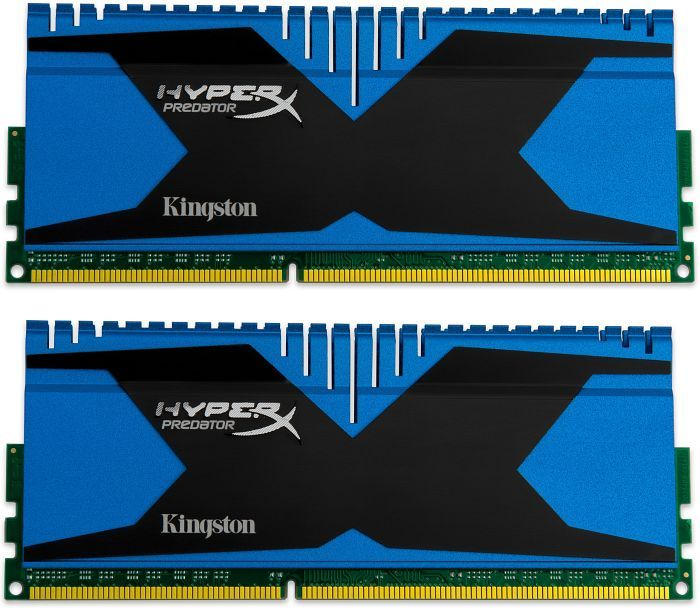 Kingston HyperX Predator DIMM XMP Kit  8GB PC3-19200U CL11-13-13 (DDR3-2400) (KHX24C11T2K2/8X)