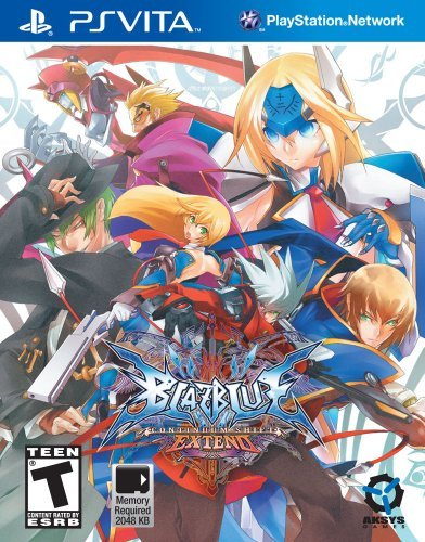 BlazBlue - Continuum Shift Extend (deutsch) (PSVita) -- via Amazon Partnerprogramm