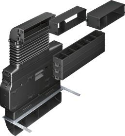 Neff Z8200X1 fan heat set for hob extractor