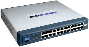 Linksys SR224, 24-Port