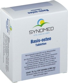 Synomed Basis-osteo Tabletten, 120 Stück