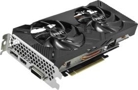 Palit GeForce GTX 1660 Ti Dual, 6GB GDDR6, DVI, HDMI, DP (NE6166T018J9-1160C)