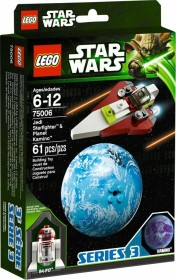 LEGO Star Wars Buildable Galaxy - Jedi Starfighter & Planet Kamino (75006)