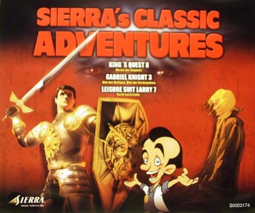 Sierra Classic Adventures (deutsch) (PC) -- via Amazon Partnerprogramm