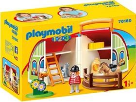 playmobil 1.2.3 - Mein Mitnehm-Reiterhof (70180)