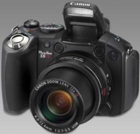 Canon PowerShot S5 IS schwarz (2077B008)