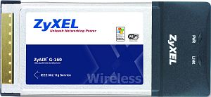 ZyXEL ZyAIR G-100, 54Mbps, Cardbus (91-005-033001)