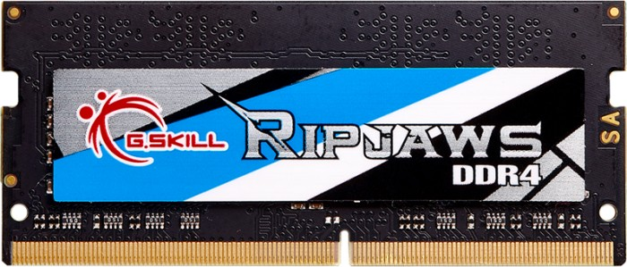 G.Skill RipJaws SO-DIMM 8GB, DDR4-3000, CL16-18-18-43 (F4-3000C16S-8GRS)