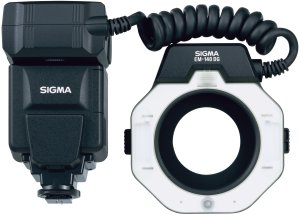 Sigma EM-140 DG ring flash for Canon (F30927)