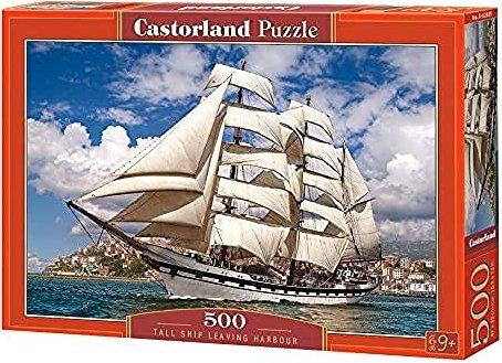 Castorland Tall Ship Leaving Harbour (B-52851) -- via Amazon Partnerprogramm