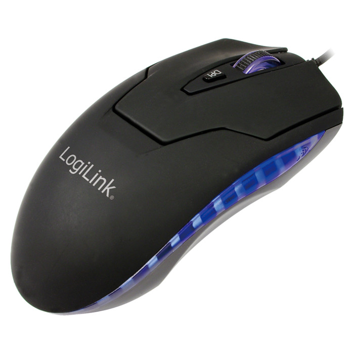 LogiLink Laser Mouse, PS/2 & USB (ID0009A)