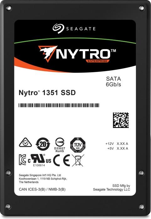 Seagate Nytro 1000-Series - 1DWPD 1351 DuraWrite Light Endurance 960GB, SATA (XA960LE10063)