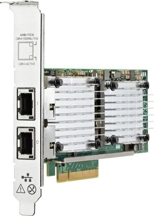 HP 530T, 2x RJ-45, PCIe 2.0 x8 (656596-B21)