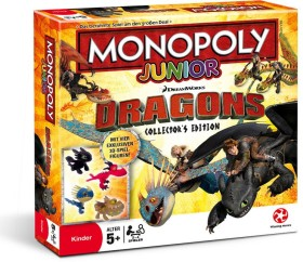 Monopoly Junior Dragons Collector's Edition