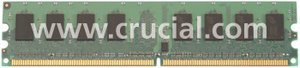 Crucial DIMM 4GB, DDR2-667, CL5 (CT51264AA667)