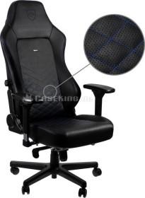 noblechairs Hero Gamingstuhl, schwarz/blau (NBL-HRO-PU-BBL)