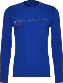Icebreaker Merino 200 Oasis Crewe Single Line Ski Shirt langarm surf (Herren) (104898-433)