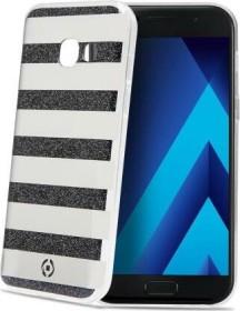 Celly Stripes für Samsung Galaxy A3 (2017) schwarz (STRIPES643BK)