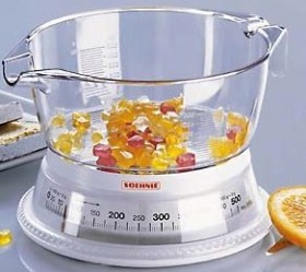 Soehnle vario mechanical mixingbowl scale (65418)