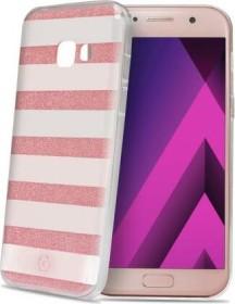 Celly Stripes für Samsung Galaxy A3 (2017) pink (STRIPES643PK)