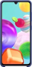 Samsung Silicone Cover für Galaxy A41 blau (EF-PA415TLEGEU)