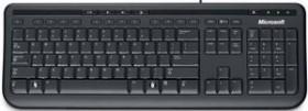 Microsoft Wired Keyboard 600 schwarz, USB, UK (ANB-00006)