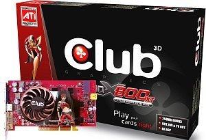Club 3D Radeon X800 XT Platinum, 256MB DDR3, DVI, ViVo, AGP (CGA-TX86VTVD)