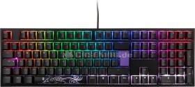 Ducky One 2 RGB PBT schwarz, LEDs RGB, MX RGB RED, USB, DE (DKON1808ST-RDEPDAZT1)