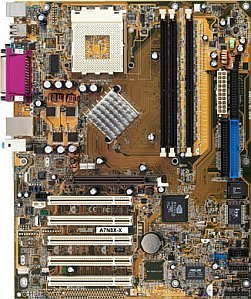 ASUS A7N8X-X, nForce2 400 (PC-3200 DDR)