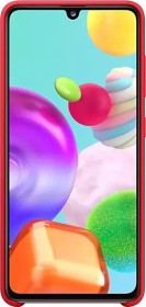Samsung Silicone Cover für Galaxy A41 rot (EF-PA415TREGEU)