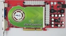 Palit GeForce 6800 GS, 256MB DDR3, VGA, DVI, TV-out (NA-6800G+TD22)