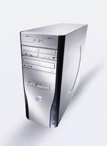 Fujitsu Scaleo 600x, Athlon XP 3200+