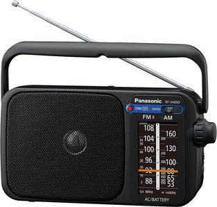 Panasonic RF-2400 schwarz -- via Amazon Partnerprogramm