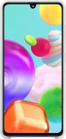 Samsung Silicone Cover für Galaxy A41 weiß (EF-PA415TWEGEU)