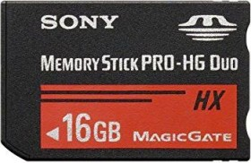 Sony Memory Stick [MS] Pro-HG Duo HX 16GB (MSHX16A)
