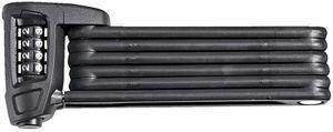 ABUS Bordo Combo 6100 Faltschloss schwarz, Zahlenkombination (51795) -- ©globetrotter.de