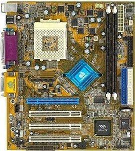 Chaintech 7AIVL, Apollo KLE133, µATX, VGA