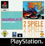 Wipeout 3 SE. + Destruction Derby 2 (PS1)