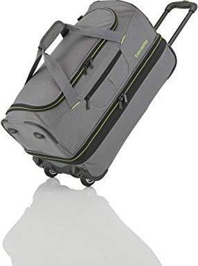 43cc267333 Travelite Basics wheeled travlel bag S extensible grey (96275-04 ...
