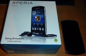 Sony Ericsson Xperia neo blue -- http://bepixelung.org/18747