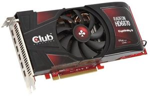 Club 3D Radeon HD 6870 Eyefinity 6 Edition, 2GB GDDR5, 6x mini DisplayPort (CGAX-68748M6)