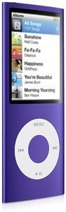 Apple iPod nano 4GB violett [4G] (MB657x/A)